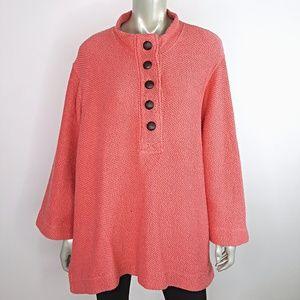 Soft Surroundings Chunky Knit Sweater Plus Size 2x